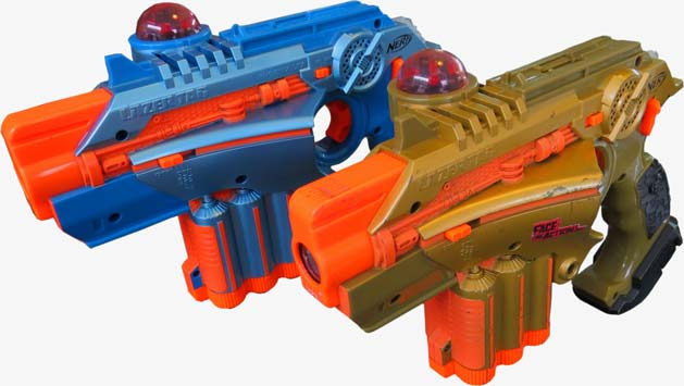 Les pistolets laser Phoenix