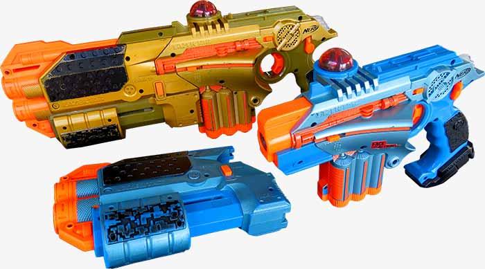 shot blasts lasergame
