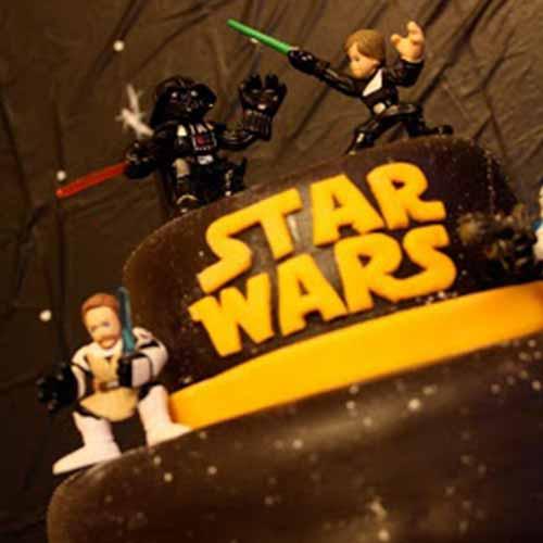 lazertag star wars taart
